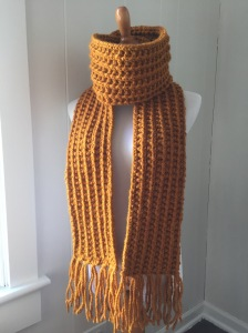 Farrow Stich Knit Scarf Pattern