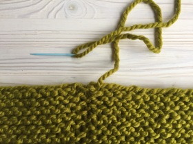 How to Seam the Garter Stitch